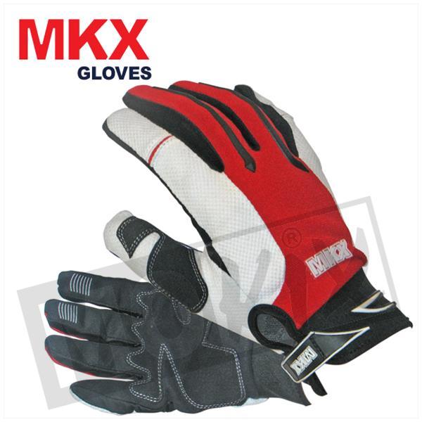 Handschuhe Cross MKX Rot