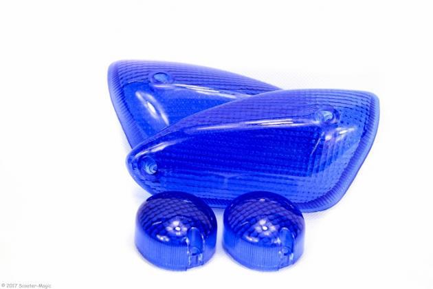 Blinkerglasset Dunkel Blau Yamaha Aerox MBK Nitro