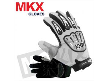 Handschuhe Cross Weiß