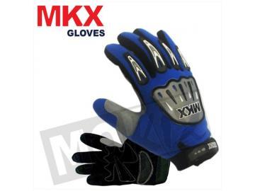 Handschuhe Cross Blau