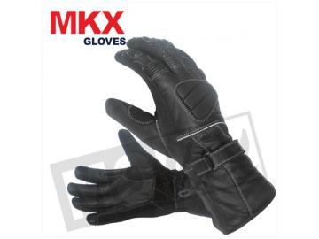 Lederhandschuh MKX Pro Street Schwarz