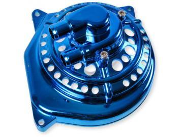 Wasserpumpendeckel Blau Gelocht Minarelli liegend