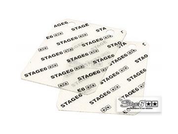 Glasfaser-Membrane für Stage6 Membranblock 45° layered 0.35mm Piaggio Gilera