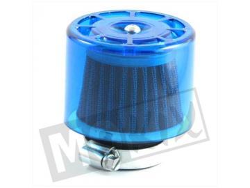 Powerfilter Blau Transparent 0°