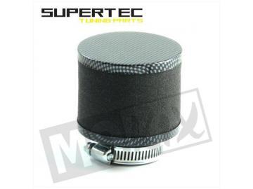 Sportluftfilter Schaum Schwarz Carbon 35mm
