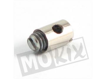 Gaszug Nippel 5x7mm 10 Stück