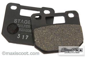 Bremsbeläge Stage6 4-Kolbenbremssattel organisch