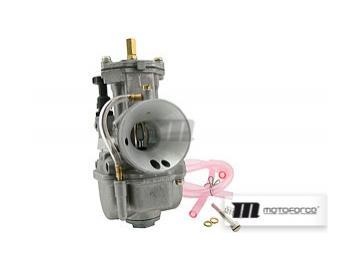 Vergaser Motoforce RACING Flachschieber 28mm inkl. Powerjet
