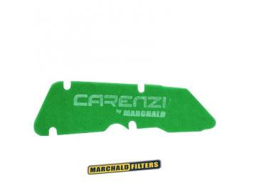 Sport Luftfiltereinsatz Carenzi Grün für Piaggio