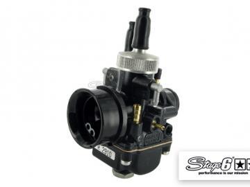 Vergaser Stage6 MK2 Dellorto PHBG Black 21mm Manueller Choke
