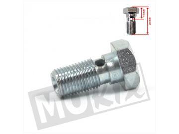 Hohlschraube für  AJP und Brembo Bremssättel M10x1,00