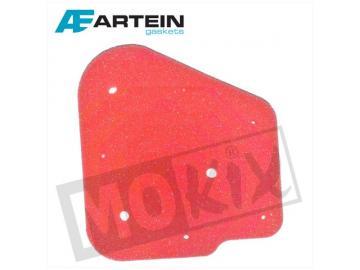 Luftfiltereinsatz Artein Rot für Minarelli liegend