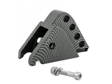 Höherlegungssatz Carbon Optik CNC 4 Pos Minarelli liegend
