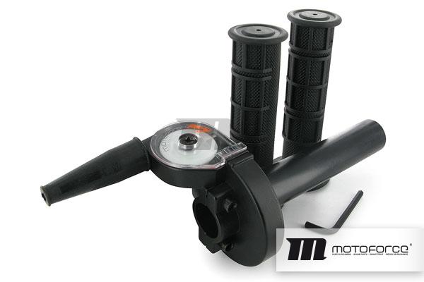 Kurzhubgasgriff Motoforce Racing Universal Schwarz