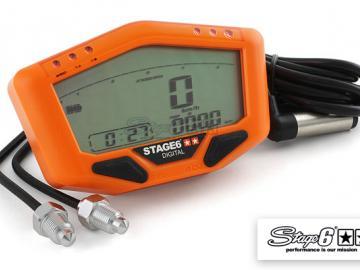Tachometer Stage6 Orange Line Universal