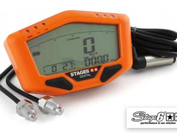 Tachometer Stage6 Orange Line Universal