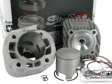 Zylinderkit Stage6 Racing 70ccm 12mm für Minarelli liegend AC