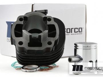 Zylinderkit Motoforce Black 50ccm Minarelli Liegend AC