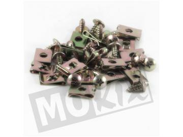 Verkleidungsschrauben M4x10 20 Stück