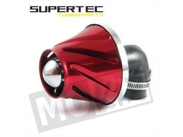 Rennluftfilter Helix 28/35mm 90° Rot