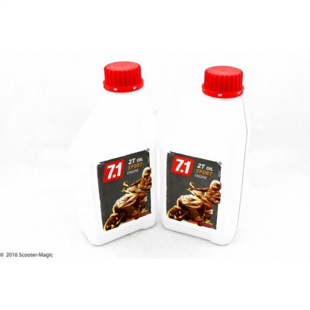 MALOSSI 7.1 Sport Teilsynthetisches 2 - Takt Öl 1000ml