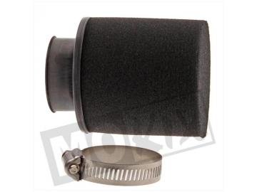 Rennluftfilter Schaum 28/35mm 0° Schwarz