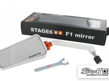 Stage6 F1 Spiegel links Weiß M8