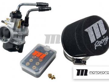 Vergaser Kit Motoforce Racing 17,5mm PHBN für Minarelli Manueller Choke