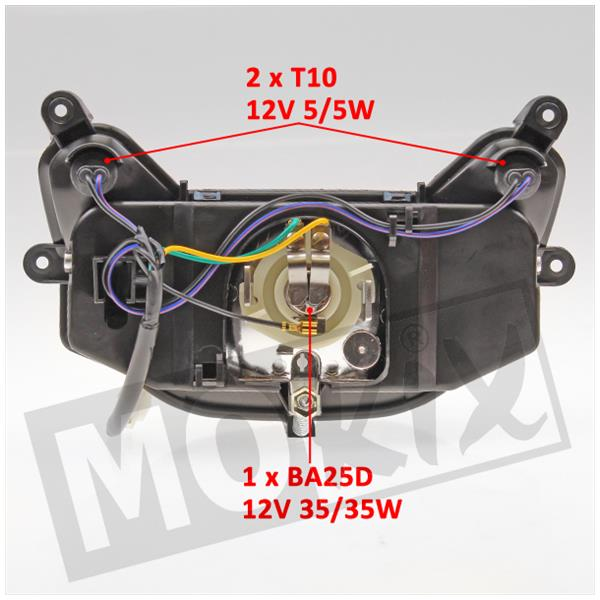 Scheinwerfer MBK Nitro Yamaha Aerox