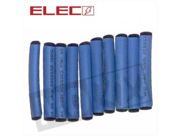 Schrumpfschlauch Stücke 3,5mm x 40mm Blau 10st.