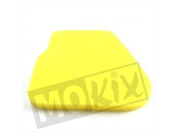 Luftfiltereinsatz Gelb für Minarelli liegend