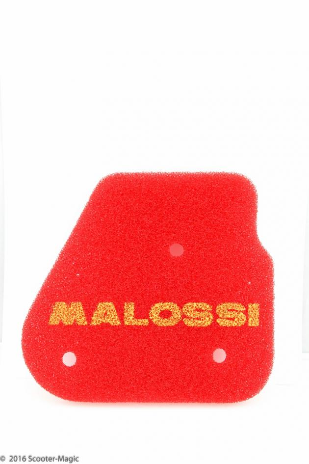 Luftfiltereinsatz Malossi Red Sponge Minarelli Liegend