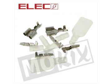 Elektrostecker 1->2 Pin 12-teilig