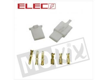 Elektrostecker 3 Pin 8-teilig
