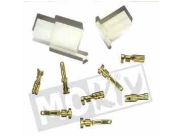 Elektrostecker 4 Pin 10-teilig