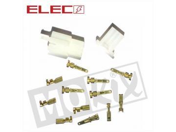 Elektrostecker 6 Pin 14-teilig