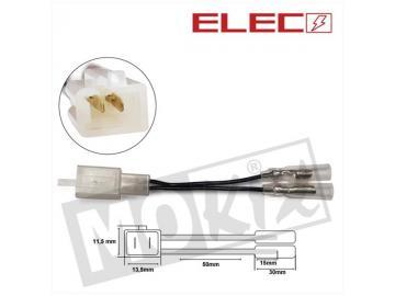 Elektrostecker 2Pin auf 2 Kabel