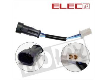 Elektrostecker 2Pin auf WR Stecker