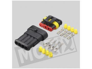 Konnektor Stecker Superseal 4 Pin