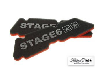 Luftfiltereinsatz Stage6 Double-Layer Piaggio lang