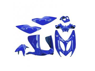 Verkleidungskit 7-teilig Blau Metallic TNT für Yamaha Aerox MBK Nitro