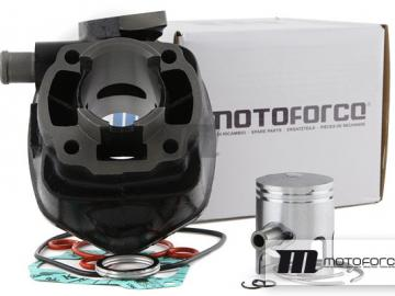 Zylinder Motoforce Ersatz Black 50ccm für Minarelli liegend LC