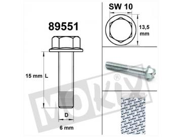 Schraube Sechskant M6x15