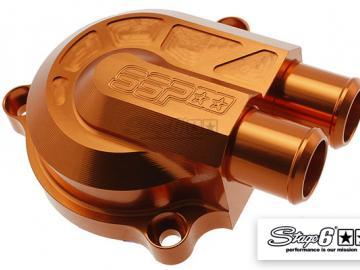 Wasserpumpe Stage6 CNC Racing Type Orange Minarelli liegend
