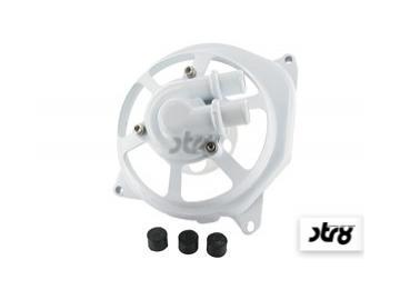 Wasserpumpendeckel STR8 Extreme Cut Weiß Minarelli liegend