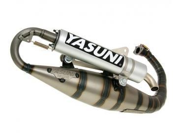 Auspuff Yasuni Z für Minarelli stehend