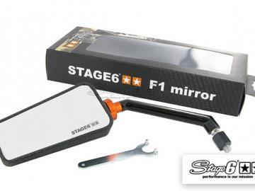 Spiegel Stage6 F1 links M8 Carbon-look Matt