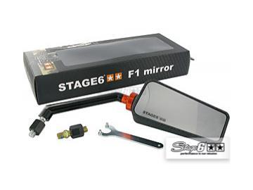 Spiegel Stage6 F1 rechts M8 Schwarz