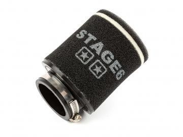 Racingluftfilter Stage6 Double Layer Schwarz 70mm