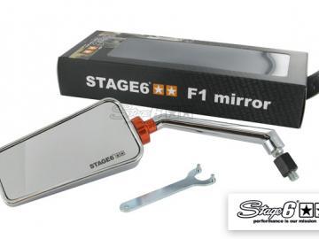 Stage6 F1 Spiegel links Chrom M8